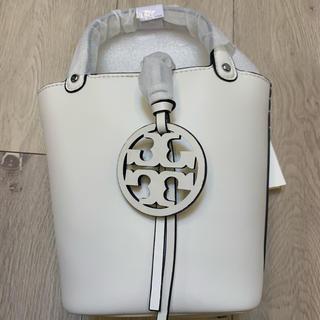 トリーバーチ(Tory Burch)のトリーバーチ❣️ Mini miller bucket bag 白(ショルダーバッグ)
