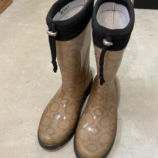 サルヴァトーレフェラガモ(Salvatore Ferragamo)の美品 フェラガモ レインブーツ(レインブーツ/長靴)