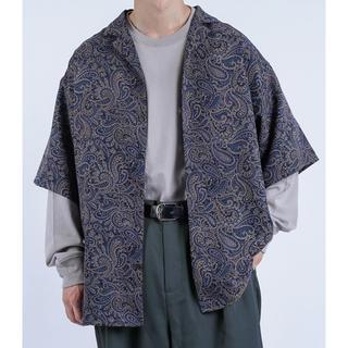 HARE - kutir ペイズリー柄シャツ