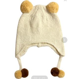 ミキハウス(mikihouse)の【未使用】ミキハウス ニット帽(帽子)