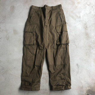 コモリ(COMOLI)のM47 cargo pants (後期 33)(ワークパンツ/カーゴパンツ)
