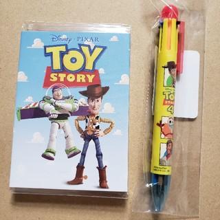 トイストーリー(トイ・ストーリー)のToy Story 4 ペン&メモ セット(キャラクターグッズ)