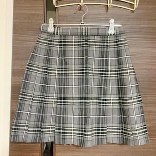 コムサイズム(COMME CA ISM)の制服 プリーツスカート チェックスカート コムサ(ミニスカート)