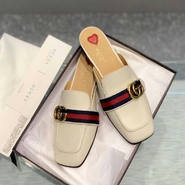 Gucci(グッチ)のGUCCI   グッチ  スリッパ レディースの靴/シューズ(スリッポン/モカシン)の商品写真