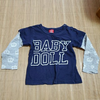 ベビードール(BABYDOLL)のBABYDOLL ロングTシャツ90(Tシャツ/カットソー)