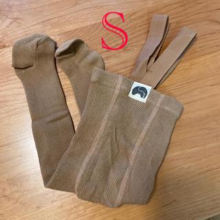 キャラメルベビー&チャイルド(Caramel baby&child )の新品 ベビータイツ シリーサイラス風 Sサイズ(靴下/タイツ)