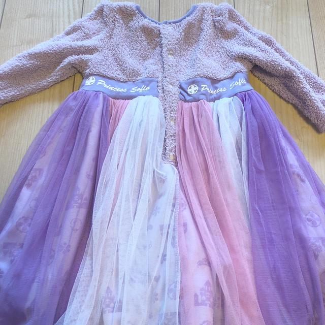 Disney(ディズニー)のディズニープリンセス ソフィア コスチュームドレス キッズ/ベビー/マタニティのキッズ服女の子用(90cm~)(ドレス/フォーマル)の商品写真