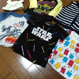 ベビーギャップ(babyGAP)の80cm男の子の服まとめ売り6点(Tシャツ/カットソー)