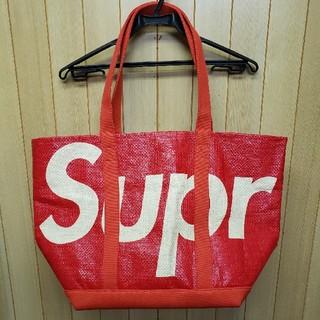 Supreme - Supreme 20SS Raffia Tote Red