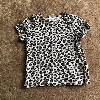 エイチアンドエム(H&M)のトップス 80cm ヒョウ柄(Tシャツ)