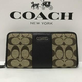 COACH - 未使用 コーチ COACH 財布 シグネチャー F43439 長財布