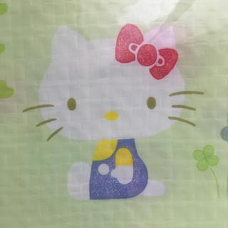 ハローキティ(ハローキティ)のキティ柄 レジャーシート 非売品(その他)