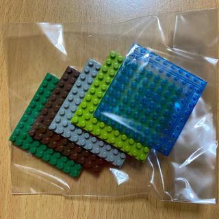 カワダ(Kawada)のナノブロック 10×10 プレート 5枚セット nanoblock(模型/プラモデル)