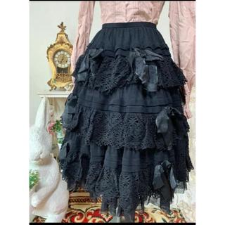 ヴィクトリアンメイデン(Victorian maiden)のJuliette et Justine チュールスカート(ひざ丈スカート)