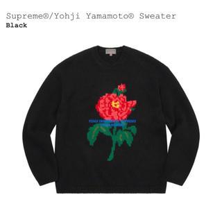 Supreme - Supreme Yohji Yamamoto Sweater Black XL