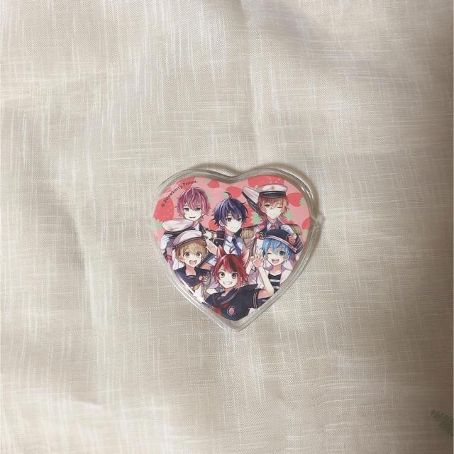 すとぷり ハート型缶バッジ エンタメ/ホビーのアニメグッズ(バッジ/ピンバッジ)の商品写真