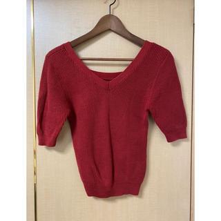 スライ(SLY)のSLY 半袖 リブニット(Tシャツ(半袖/袖なし))