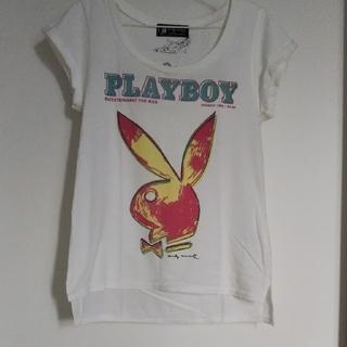 ヒステリックグラマー(HYSTERIC GLAMOUR)のヒステリックグラマー  アンディー プレイボーイ Tシャツ(Tシャツ(半袖/袖なし))