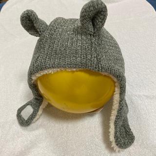プティマイン(petit main)の【新品タグ付き】アニマル裏ボアキャップ(帽子)