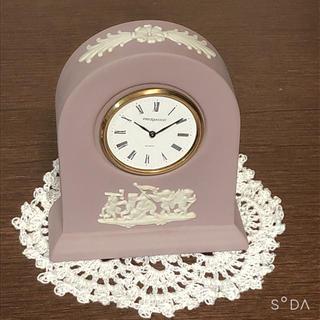 ウェッジウッド(WEDGWOOD)の【希少】ウェッジウッドジャスパー置時計♡*゜(置時計)