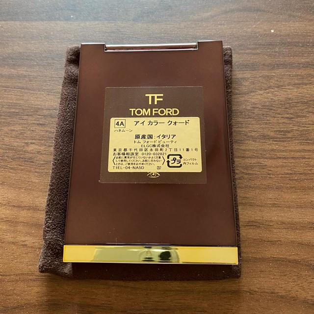 TOM FORD(トムフォード)のトムフォード アイカラークォード 4Aハネムーン コスメ/美容のベースメイク/化粧品(アイシャドウ)の商品写真