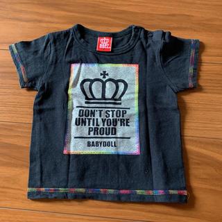 ベビードール(BABYDOLL)のベビードール Tシャツ 90(Tシャツ/カットソー)