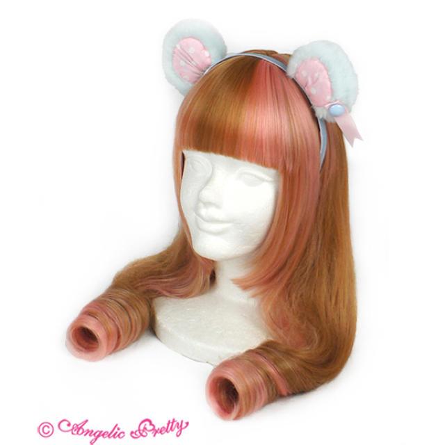 Angelic Pretty(アンジェリックプリティー)のangelic pretty toy doll box ジャンスカ サックス レディースのワンピース(ひざ丈ワンピース)の商品写真