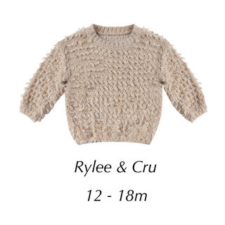 Rylee&Cru / slouchy pullover sweater