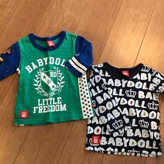 ベビードール(BABYDOLL)のベビードール ロンT 七分 100センチ(Tシャツ/カットソー)
