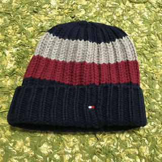 トミーヒルフィガー(TOMMY HILFIGER)のTOMMY HILFIGER ニット帽 ニットキャップ s(帽子)