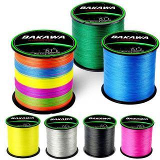 BAKAWA PEライン 4本編み 300m ブルー 2.0# 40LB(釣り糸/ライン)