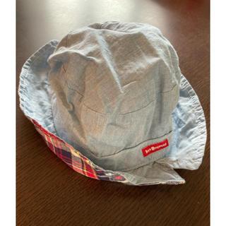 ミキハウス(mikihouse)のホットビスケッツ 帽子 リバーシブル(帽子)