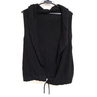 ダブルスタンダードクロージング(DOUBLE STANDARD CLOTHING)のダブルスタンダードクロージング 黒(カーディガン)