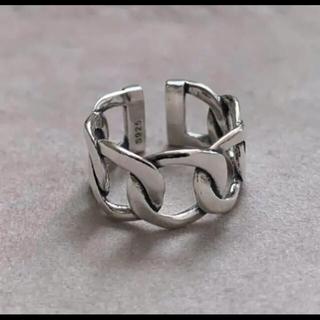 シルバー925喜平リング チェーンリング シルバーリング silver925(リング(指輪))