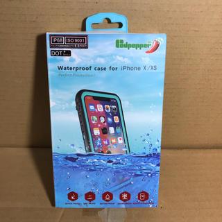 レッドペッパー(REDPEPPER)のレッドペッパー iPhone X/XS 防水 防雪 防塵 耐衝撃 ケース レッド(iPhoneケース)
