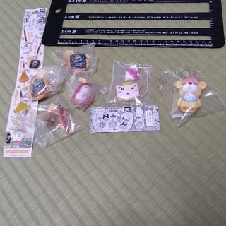 ハクセンシャ(白泉社)の3月のライオン ガチャセット&羽海野チカ ウミノグマ 指人形ストラップ(キャラクターグッズ)