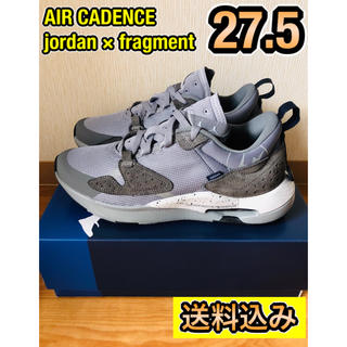 FRAGMENT - 【希少】AIR CADENCE fragment jordan 27.5 送料込