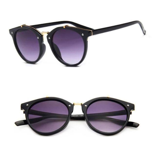 ボストンデザインサングラス09-04-1 レディースのファッション小物(サングラス/メガネ)の商品写真