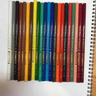 ミツビシエンピツ(三菱鉛筆)のMITSUBISHI POLYCOLOR 三菱ポリカラー 22色 色鉛筆(色鉛筆)