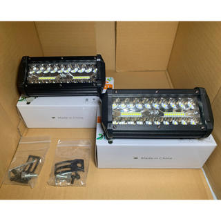 LED作業灯 デッキライトLEDワークライト防水投光器12v-24v兼用③