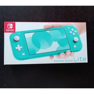 ニンテンドースイッチ(Nintendo Switch)の新品 Nintendo Switch Lite ターコイズ 本体(家庭用ゲーム機本体)