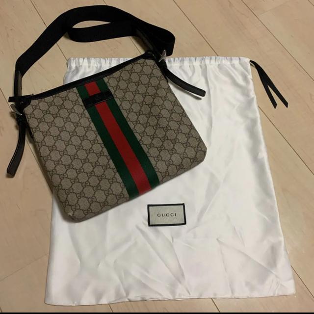 Gucci(グッチ)のGUCCI GGスプリーム メッセンジャーバック メンズのバッグ(メッセンジャーバッグ)の商品写真