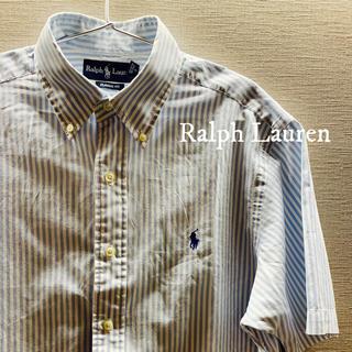 ラルフローレン(Ralph Lauren)のRalph Lauren 半袖シャツ ストライプ(シャツ)