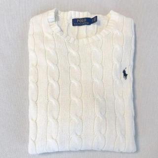 ラルフローレン(Ralph Lauren)の《美品》ラルフローレン ケーブル編みメンズセーター(ニット/セーター)