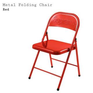 Supreme - supreme  Chair チェアー 椅子  赤
