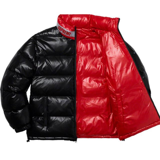 Supreme(シュプリーム)のSupreme Shiny Reversible リバーシブル ダウンジャケット メンズのジャケット/アウター(ダウンジャケット)の商品写真