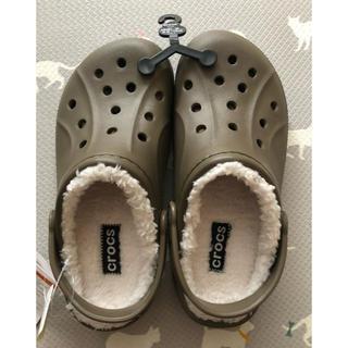 crocs - クロックス ボア付き もこもこサンダル