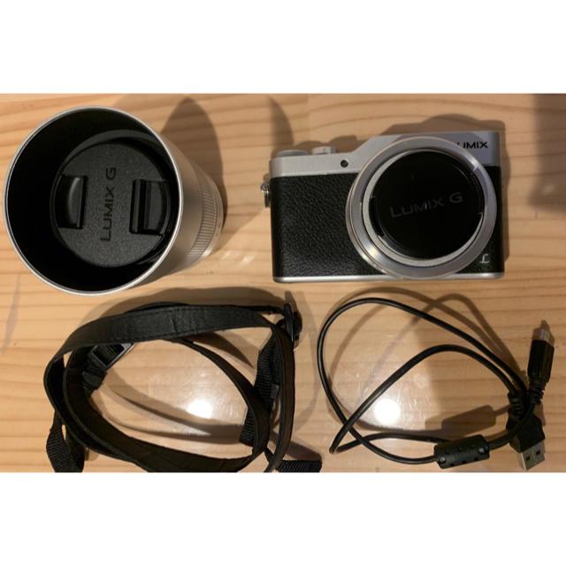 Panasonic(パナソニック)の【匿名配送】ミラーレスカメラ Panasonic gf9  ダブルレンズセット スマホ/家電/カメラのカメラ(ミラーレス一眼)の商品写真