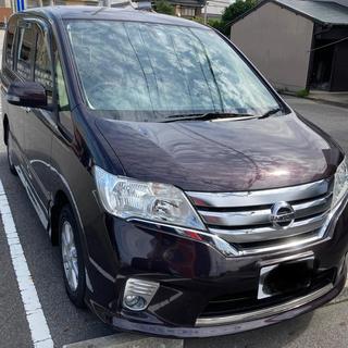 SERENA - 平成24年 日産 セレナ ハイウェイスター Vセレクション 走行77000キロ