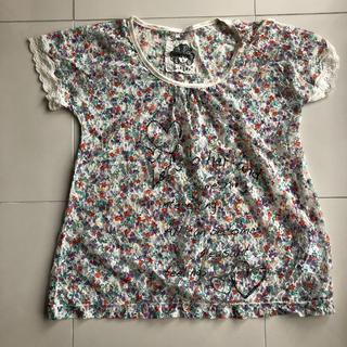 スカラー(ScoLar)のスカラー 花柄総レースシャツ(シャツ/ブラウス(半袖/袖なし))